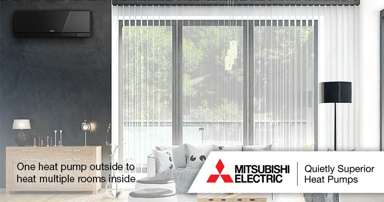Mitsubishi Heat Pump installers Tararua and Wairarapa areas.