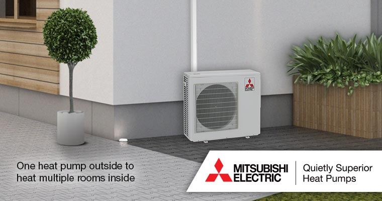 Mitsubishi Heat Pump Supply and Installation Tararua and Wairarapa areas.
